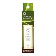 Tea Tree Blemish Touch Stick - 0.31 fl. oz. by Desert Essence (pack of 3) Hard Candy TAKE IT OFF Makeup Remover Wipes, 25 Count (Pack of 2) + Schick Slim Twin ST for Sensitive Skin