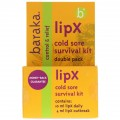 Baraka Lipx Cold Sore Survival Kit Daily & Outbreak Balms