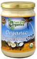 Creamed Organic Coconut 15 oz (443ml) Jar Tropical Green Organics