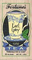 Black Tea Earl Grey Flavored 25 Tea Bags Wood Box Fortunes Int'l CLOSEOUT SALE