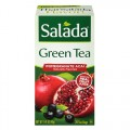 Green Tea Fruit Infusions Pomegranate Acai Flavored 20 Bags Salada