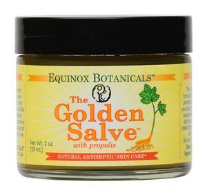 The Golden Healing Salve with Propolis Skin Care 0 25oz/1 oz