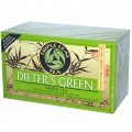 Dieter's Green Tea Decaf 20 Tea Bags Triple Leaf Tea