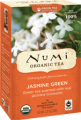 Monkey King Jasmine Green Tea Organic 18 Full Leaf Tea Bags Numi Teas