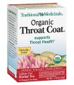Organic Throat Coat Herbal Tea 16 Bags Traditional Medicinals