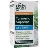 Turmeric Supreme: Allergy 60 Liquid Veg Capsules Gaia Herbs