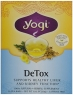 Detox Healthy Cleansing Formula 16 Tea Bags Yogi
