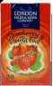 Strawberry & Vanilla Fool Herbal Tea Infusion 20 Bags London Fruit & Herb