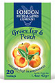 Green Tea & Peach Infusion 20 Bags London Fruit & Herb CLOSEOUT