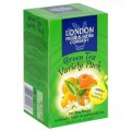 Green Tea Variety Pack 20 Tea Bags London Fruit & Herb
