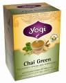 Chai Green Tea Organic 16 Tea Bags Yogi Tea