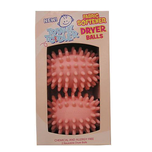Totally Toddler Nursery Fabric Softener Dryer Balls 2 Pack