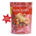 Gin Gins Chewy Ginger Candy Spicy Apple 3 oz The Ginger People