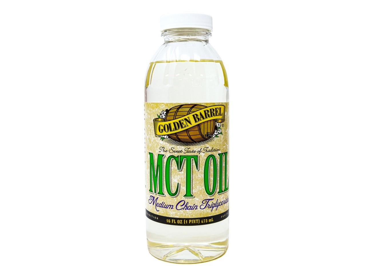 MCT (Medium Chain Triglycerides) Oil 16 fl oz Golden Barrel