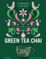 Green Tea Chai 20 Tea Bags Organic Herb Infusion Higher Living