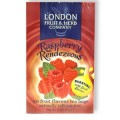 Raspberry Rendezvous Herbal Tea Infusion 20 Bags London Fruit & Herb