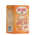 Sweet Temptations Black Tea Flavored Caramel Apple Pie 18 Tea Bags Red Rose