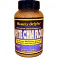 Healthy Origins White Chia Flour 100% Natural 12 oz/340 g