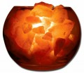 Glass Globe Himalayan Sea Salt Lamp Folioe