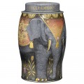 Earl Grey Single Estate Kenya Black Tea 40 Bags Elephant Tin Caddy Williamson Tea