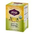 Green Tea Energy Tea Organic 16 Tea Bags Yogi Tea