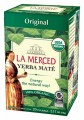 La Merced Yerba Mate Original Certified Organic 20 Tea Bags