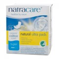 Natural Ultra Pads Super Absorbency with Wings Organic Cotton 12-CT Natracare