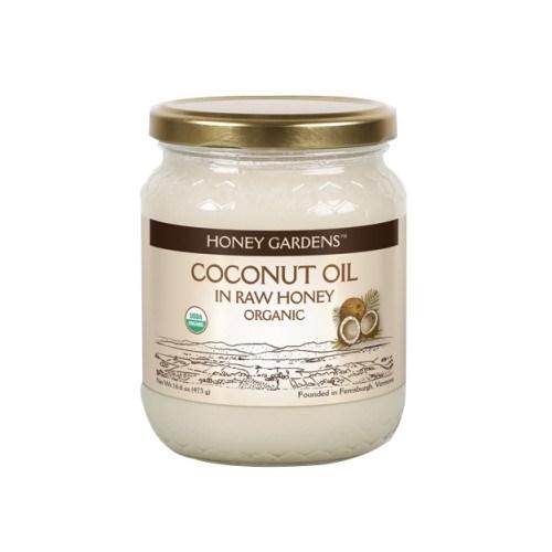 Coconut Oil in Raw Honey Organic Spread 16 6 oz(500g) Honey