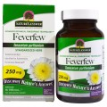 Feverfew Standardized 0.7% Parthenolides 250mg 90 VegCaps Nature's Answer