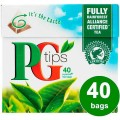 PG Tips Black Tea 116g 40 Pyramid Bags