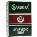 Chandrika Ayurvedic Bar Soap 2.64 oz/75 g